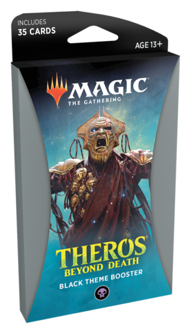 Theros Beyond Death Theme Booster - Black (Ships Jan 24)