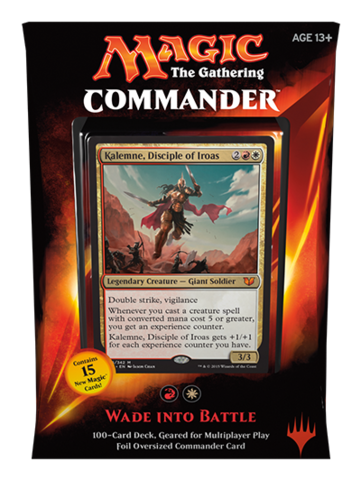 Commander 2015: Red/White Deck - Wade Into Battle (W/R)