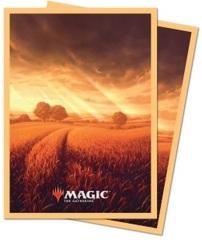 Ultra Pro MTG 100ct Standard Unstable Lands Sleeves - Plains