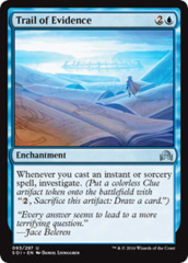 Trail of Evidence - Foil