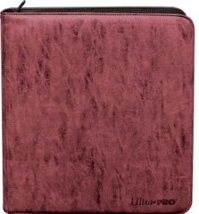 Ultra Pro Deck Builder's Playset Binder - Suede Ruby