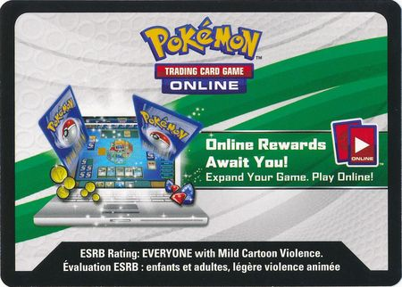 Silvally Figure Collection Unused Code Card