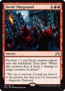 Devils Playground - Foil