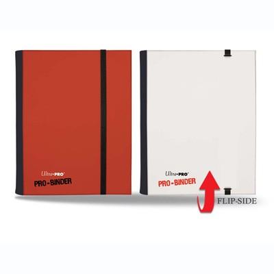 Ultra Pro 4-Pocket Pro-Binder - Red/White