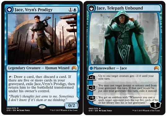 Jace, Vryns Prodigy // Jace, Telepath Unbound - Foil