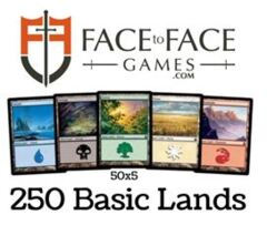 Basic Lands - 250 total (50 of each)