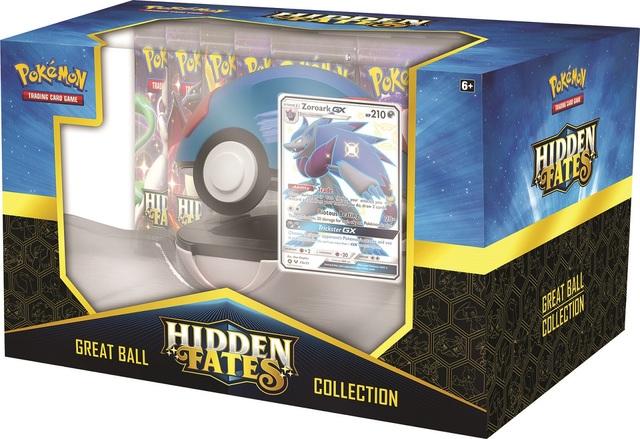 Hidden Fates Pokeball Collection - Shiny Zoroark GX
