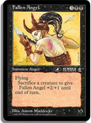 Fallen Angel (4th Place) - Oversized Promo