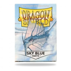 Dragon Shield 100ct Standard Sleeves - Matte Sky Blue