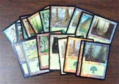 Random Foil Forests, Bundle of 10