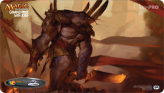 Grand Prix San Jose 2015 Ltd. Ed. Playmat (Brutal Hordechief)