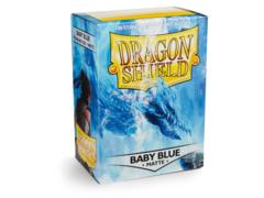 Dragon Shield 100ct Standard Sleeves - Matte Baby Blue