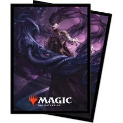 Ultra Pro MTG 100ct Theros Beyond Death Standard Sleeves - Ashiok, Nightmare Muse