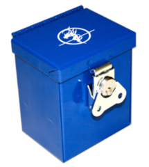 Steel Commander Deck Box - Blue