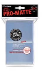 Ultra Pro PRO-Matte 100ct Standard Deck Protectors - Clear