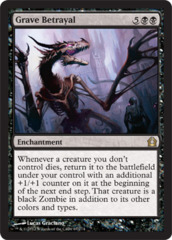 Grave Betrayal - Foil