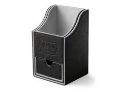 Dragon Shield Black/Light Grey Nest+ (with tray) 100+ Deck Box