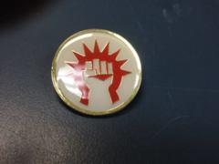 PAX 2012 MTG Ravnica Guild Pin - Boros