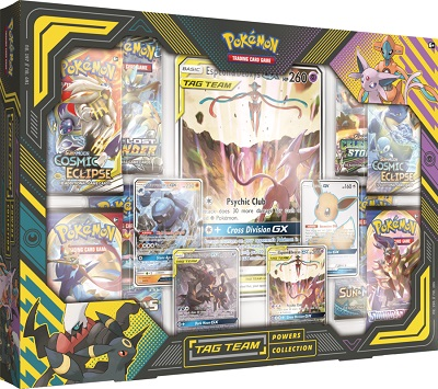 Pokemon Tag Team Powers Collection Box (Ships Mar 27)