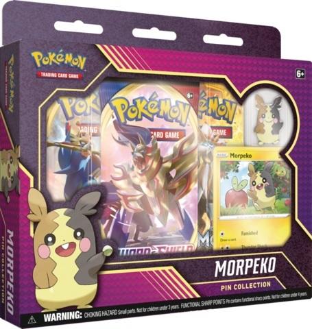Pokemon Pin Collection - Morpeko