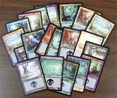 Random Foil Swamps, Bundle of 10