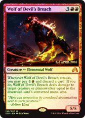 Wolf of Devil's Breach - Shadows over Innistrad Prerelease Promo