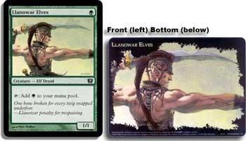 Llanowar Elves - 9th Edition Box Topper