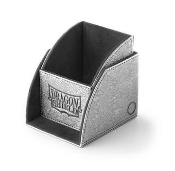 Dragon Shield Light Grey/Black Nest 100+ Deck Box
