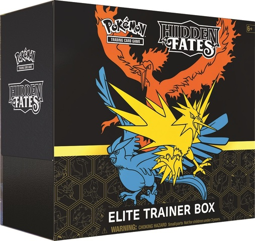 Hidden Fates Elite Trainer Box