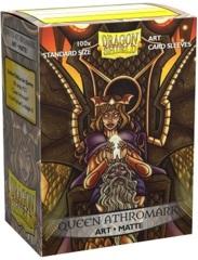 Dragon Shield 100ct Standard Sleeves - Matte Queen Athromark