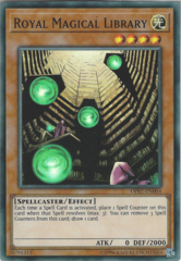 Royal Magical Library - OP07-EN004 - Super Rare - Unlimited Edition