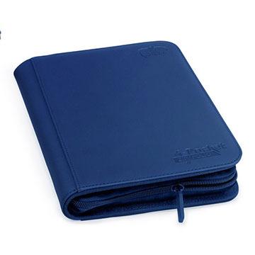 Ultimate Guard 4-Pocket Zipfolio XenoSkin - Blue