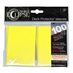 Ultra Pro Pro-Matte Eclipse 100ct Standard Sleeves - Lemon Yellow