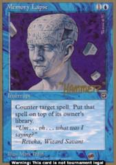 Memory Lapse (Version 2)