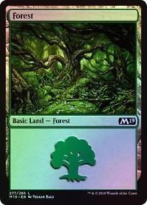 Core 2019 Foil Forest 277/280- Bundle of 10