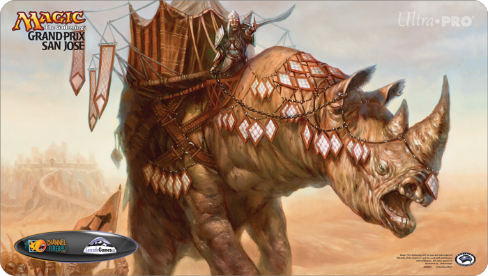 Grand Prix San Jose 2015 Ltd. Ed. Playmat (Siege Rhino)
