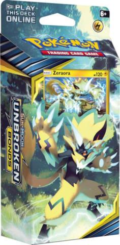 Pokemon Sun & Moon Unbroken Bonds Theme Deck - Zeraora