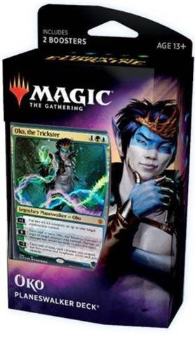 Throne of Eldraine Planeswalker Deck - Oko