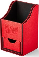 Dragon Shield Red/Black Nest+ (with tray) 100+ Deck Box