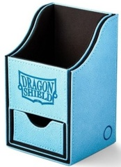 Dragon Shield Blue/Black Nest+ (with tray) 100+ Deck Box