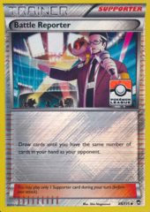 Battle Reporter - 88/111 - Holo Promo (League)