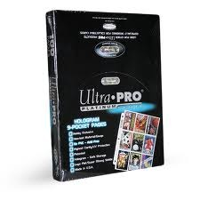 Ultra Pro Platinum Series 9-Pocket Pages (box of 100)