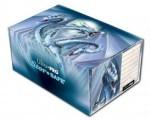 Ultra Pro 2-Slot Gaming Box: Blue Diamond Dragon