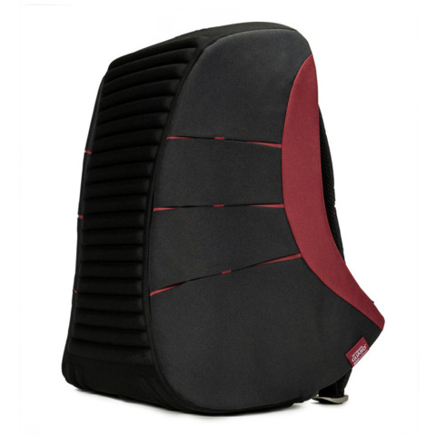 Ultimate Guard Ammonite Anti-Theft Backpack - Black/Red 2020 Exclusive