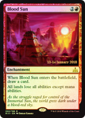 Blood Sun - Foil - Prerelease Promo