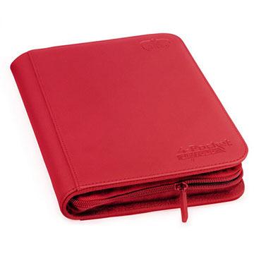 Ultimate Guard 4-Pocket Zipfolio XenoSkin - Red