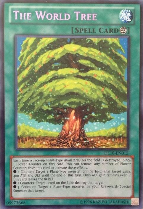 The World Tree - Purple - DL18-EN012 - Rare - Unlimited Edition