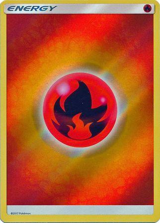 Fire Energy - 2017 - Reverse Holo