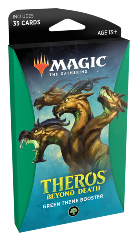 Theros Beyond Death Theme Booster - Green (Ships Jan 24)