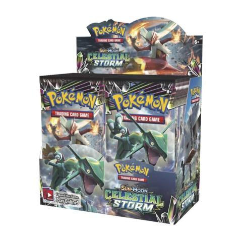 Pokemon Sun & Moon: Celestial Storm Booster Box